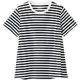無印良品 Tシャツ コットンレーヨン天竺授乳に便利な半袖Tシャツ マタニティ レディース