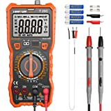 Digital Multimeter, LOMVUM TRMS 6000 Counts Electrical Tester AC/DC Amp Ohm Voltage Tester Meter with Temperature Frequency R
