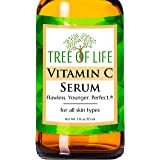 Vitamin C Serum For Face - Anti Aging Anti Wrinkle Facial Serum With Many Natural And Organic Ingredients - Paraben Free, Veg