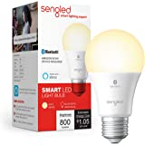 Sengled Smart Light Bulb, Bluetooth Mesh Smart Bulb That Works with Alexa Only, Dimmable LED, 800LM, Soft White 2700K, 8.7W (