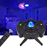 LED Star Night Light Projector, Galaxy Light Projector with Remote, Sky Light Skylite with Bluetooth Music Speaker and Nebula
