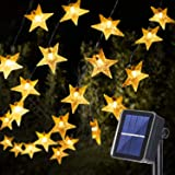 Solar String Light Outdoor, 18M/59ft 110 LED Star String Light Solar and USB Powered, 8 Modes Decorative Twinkle Fairy Light