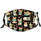 Animal Face Mask, Comfortable Seamless Funny Cute Balaclava For Adults, Adjustable For Windproof & Warmth.