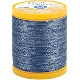 Coats & Clark S976-4665 Dual Duty Plus Denim Thread, 125-Yard, Denim Blue