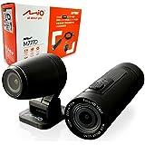 デイトナ Mio(ミオ) バイク用 ドライブレコーダー アクションカメラ 前後2カメラ 200万画素 フルHD 防水 防塵 LED信号 MiVue M777D 17101