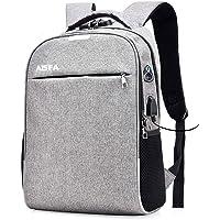 AISFA リュック PC ビジネスバックパック 防水加工 リュックサック大容量 ラップトップバック USB充電ポート付…