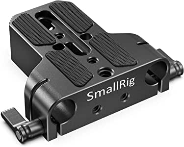 SMALLRIG 多用途U-ベース(アルミ製)ほとんどの一眼レフとマイクロカメラに適用 Sony FS7、 Sony A7シリーズ、 Canon C100/C300/C500 に適用 カメラアクセサリー -1674 [並行輸入品]