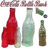コカコーラ コンツァーボトル 貯金箱 【Sサイズ クリア】 バンク アメリカン雑貨 コカ・コーラ ボトル グッズ アメリカ 雑貨