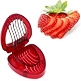 ZRAMO Accessories Simply Slice Strawberry Section Slicer Kitchen Cutter Gadgets Kitchen Tool Mini Slicer Cut Joie MSC Stainle