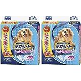 【セット販売】デオシートしっかり超吸収無香消臭タイプ レギュラー 112枚×2袋