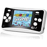 Handheld Game Console, Retro Mini Game Player with 400 Classical FC Games 2.5-Inch Color Screen Support for Connecting TV & T