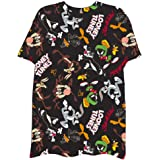 Looney Tunes Mens Group Shirt - Bugs Bunny Marvin and Taz Tee - 90's Classic T-Shirt