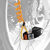 ドッペルギャンガー(DOPPELGANGER) アラーム ディスクロック 【 ワンプッシュでスピード施錠 】 バイク ロ…