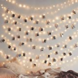 Twinkle Star 200 LED 66 FT Copper String Lights Fairy String Lights 8 Modes LED String Lights USB Powered with Remote Control