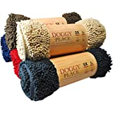 My Doggy Place - Ultra Absorbent Microfiber Dog Door Mat, Durable, Quick Drying, Washable, Prevent Mud Dirt, Keep Your House
