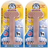 Bullibone Nylon Dog Chew Toy Nylon Bone - Improves Dental Hygiene, Easy to Grip Bottom, and Permeated with Flavor