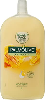 Palmolive Naturals Liquid Hand Wash Refill Milk & Honey, 1L