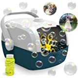 Cuddlens Bubble Machine, Automatic Bubble Blower Machine, Portable Bubble Maker for Outdoor and Indoor Use, Powered by Plug-i