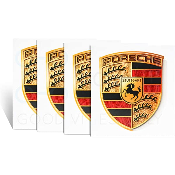 RENGVO Rear Tailgate Pack of 1 GTS LETTERS 120MM GLOSS BLACK Emblem Badge 3D Replacement For 991 GT3RS 911 GT2 MACAN TAYCAN PANAMERA ETC Decal Sticker Fender Trunk