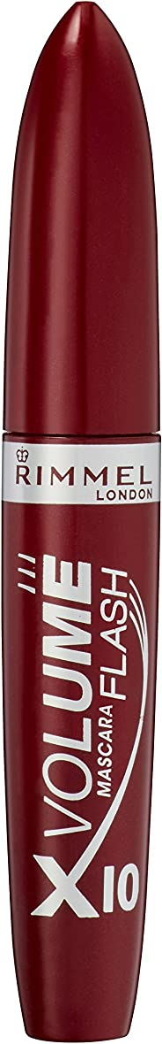 Rimmel London Volume Flash x10 Mascara, Black, 12 ml