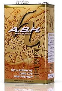 A.S.H. アッシュ 「エクストラ ゴールド」エンジンオイル 15w-50 ノンポリマー ノンエステル 100% 化学合成油