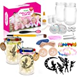 Sergia Fairy Light Lantern Arts and Crafts Supplies DIY Kits -for Ages 4-8-12 5 6 7 9 10 11 13 -Years Old Girls Boys Kids Toy