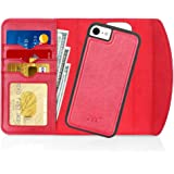 """FYY Case for iPhone SE 2020, iPhone 7/8 4.7"""", 2-in-1 Magnetic Detachable Wallet Case [Wireless Charging Support] with Card Sl"""