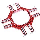 NESHEXST DIY専門誌 ドゥーパ!掲載モデル コーナー クランプ 木工 溶接 (4個セット)