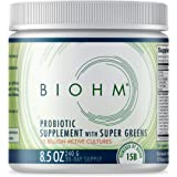 Dr. Formulated Super Greens Superfood Powder with Probiotics, and Digestive Enzymes, 20+ Organic Green Whole Foods (with Whea