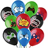 Cracoo Video Game Controller Balloons Gaming Birthday Balloons for Video Game Birthday Party Decorations for Boy-40 Pack