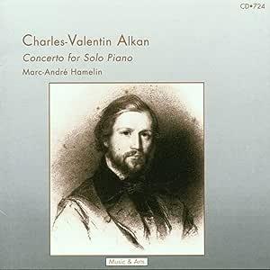 アルカン:独奏ピアノのための協奏曲 (Alkon: Concerto for Solo Piano)