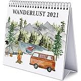 Erik - Wanderlust 2021 Desk Calendar - Desktop Calendar 2021, CS21010