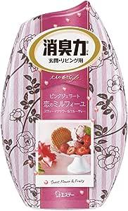 お部屋の消臭力 消臭芳香剤 部屋用 部屋 ピンクミルフィーユの恋の香り フラワー&フルーティー 400ml