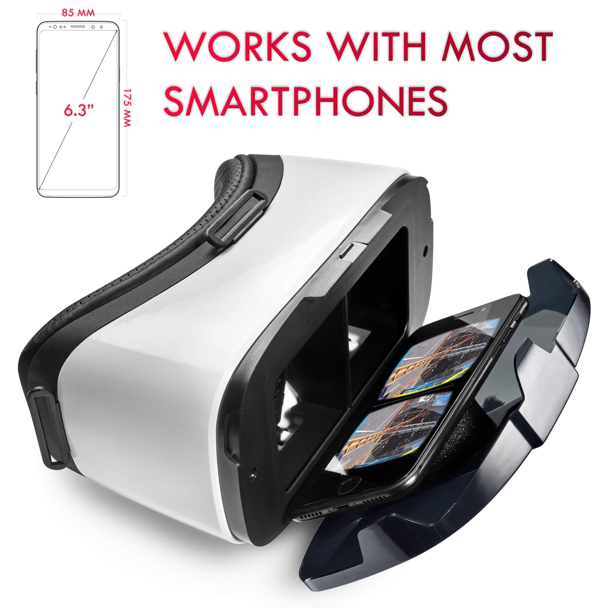 digib VR Headset for iPhone/Android Phone | New Virtual ...