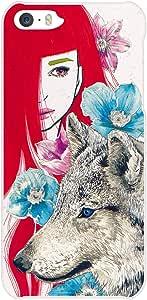 【iPhone 5/5s ケース】VERY Rice!(ベリーライス)iPhone Case「赤ずきんとオオカミの森 by 佐瀬麻友子」