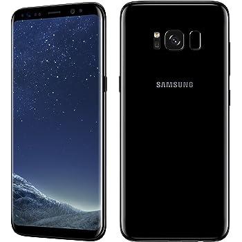 "Samsung サムスン Galaxy S8 SM-G950FD Dual SIM版 (SIMフリー) 5.8"" 64GB Midnight Black/ブラック 並行輸入品"