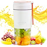 Portable Blender Bottles for Shakes And Smoothies, 10oz Mini Blenders, Electric USB Rechargeable Juicer Machines Extractor Ho
