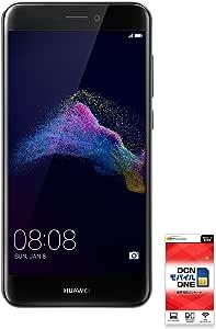 NTTコミュニケーションズ OCNモバイル ワン SIMカードとHUAWEI新星ライト[(音声SIM、ブラック) 音声シム ブラック