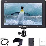 FEELWORLD T7 7 Inch DSLR On Camera Field Monitor Video Assist Full HD 1920x1200 4K HDMI Input Output with Peaking Focus Rugge