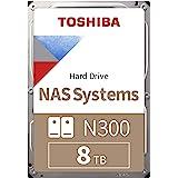 "Toshiba N300 8TB NAS 3.5"" SATA HDD 'Bulk' (HDWG180UZSVA)"