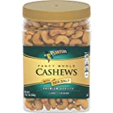 Planters Fancy Whole Cashews With Sea Salt, 33 Oz. Resealable Jar - Snack For Adults Made With Simple Ingredients - Good Sour
