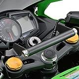 デイトナ バイク用 クランプバー Ninja ZX-25R/SE専用 マルチバーホルダー アッシュシルバー 19256