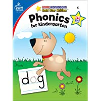 Phonics for Kindergarten: Home Workbooks Gold Star Edition