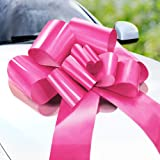 Zoe Deco Butterfly Car Bow (Pink, 23 inch, 1 Pack), Thickness 0.2mm