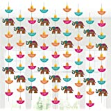 Happy Diwali Party Hanging Decoration Supplies - Festival of Lights Doorway Curtain Party Hanging Decor(6PCS)
