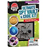 Klutz 858924 Ultimate Spy Vault & Code Kit, Brown