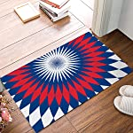Rug Entrance Chic Aztec Abstract Ethnic Tribal Pattern Bathroom Doormat Carpet Indoor Mat Anti Skid Shag Shaggy Bath...