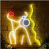 Graceful Lady Neon Sign Lights Art Wall Decorative Lights
