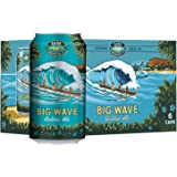 Kona Big Wave Hawaiian Golden Ale Can, 355ml (Pack of 6)