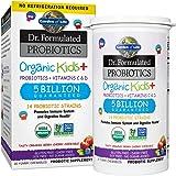 Garden of Life Dr. Formulated Probiotics Organic Kids+ plus Vitamin C & D - Berry Cherry - Gluten, Dairy & Soy Free Immune &